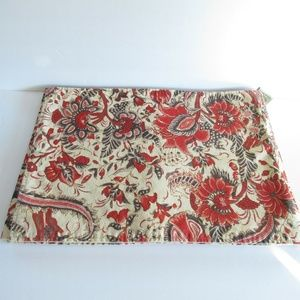 Pottery Barn Placemats Set of 7 Floral Palampore